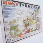 """Utforming/illustrasjon av VG-grafikk """"Høsttakkefest"""""""