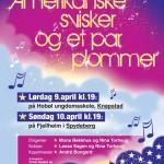 Konsertplakat for Tomter sangkor og Korisma i Spydeberg