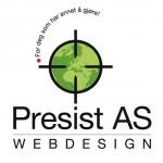 Utforming av logo for Presist AS