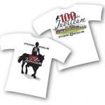 Utforming/illustrasjon av T-skjorter for rideklubb