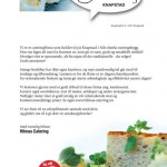 Foto og utforming av firmabrev for Hilmas Catering, Knapstad